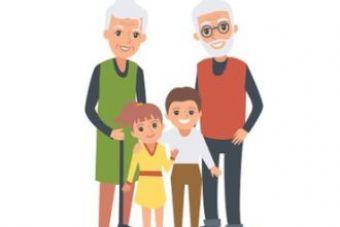 Sesja fotograficzna z okazji Dnia Babci i Dziadka